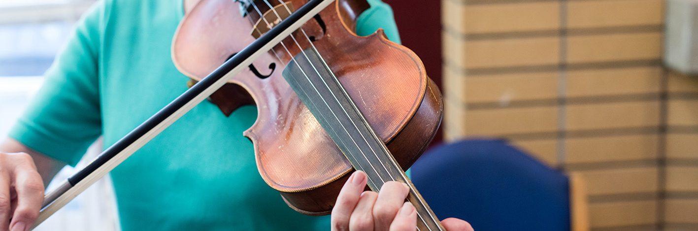 Banner-Violin